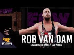 wwe 2k18 cena nuff edition and basic deluxe edition wwe wwe 2k18 rob van dam official entrance ecw arena hammerstein
