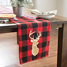 buffalo plaid table runner red and black plaid table runner modern coffee tables and accent