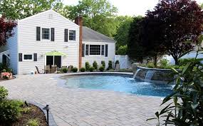 Define Backyard Balanced Materials Define This Pool U0026 Patio East Northport Long