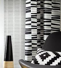 Black And White Modern Curtains Ikea Curtains Black And White Decorate The House With Beautiful