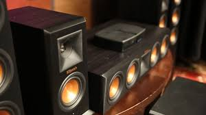 klipsch home theater speakers 5 1 klipsch u0027s wireless 5 1 system comes at a high end price but lacks