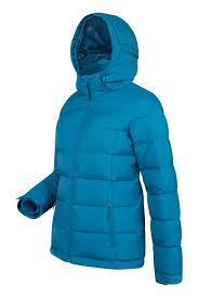 frosty womens down jacket mountain warehouse us