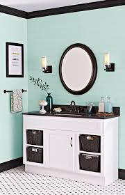Painted Vanities Bathrooms Paint Gives A Dated Vanity A Second Life For Far Less Than The