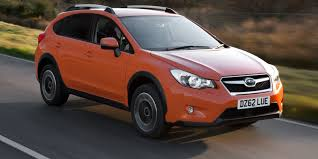 red subaru crosstrek subaru xv review carwow