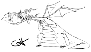 deadly nadder coloring coloring pages ideas u0026 reviews