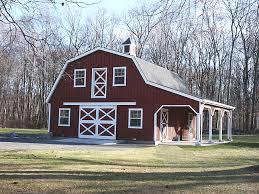 Barn Style Garages Barn Style Homes Custom Barn With Gambrel Roof 10 U0027 Wide