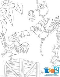 22 best rio u0026 rio2 movies coloring pages images on pinterest