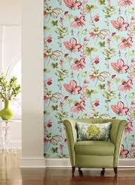 dining room design gets playful serendipity wallpaper from york