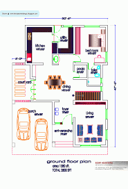 House Plans With Vastu North Facing by Simple Small South Facing House Floorlans Indianlan Sq Ft Kerala