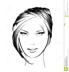 beautiful girls face sketches drawing art library