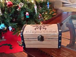 this legend of engagement ring treasure chest is awesome