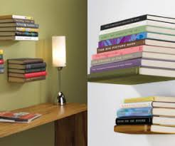 How To Make Invisible Bookshelf Diy Project