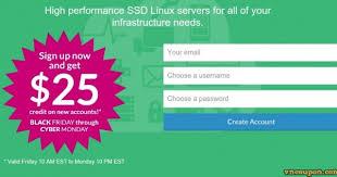 black friday ssd black friday 2014 linode get 25 credit for ssd cloud hosting