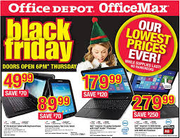 best black friday laptop deals 2014 office depot u0026 officemax black friday 2014 deals include pair of