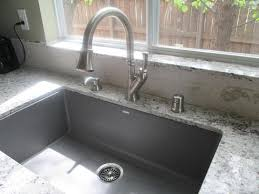 Composite Undermount Kitchen Sinks by Blanco Precis Undermount Granite Composite 32 In Super Single