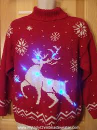 Ugly Christmas Sweater With Lights Wonderful Decoration Christmas Sweater With Lights Light Up Ugly
