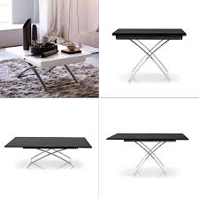 from coffee table to dining table coffee table transforms to dining table sofa table that converts to