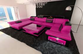 Big Leather Sofas Awesome Pink Leather Sofa Inspirational Intuisiblog