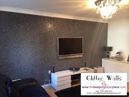 glitter wallpaper manufacturers clear black glitter wallcovering code ssb8 http