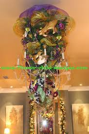 mardi gras bead chandelier flower child designs mardi gras madness
