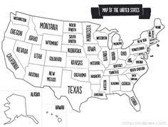 map of united states countries and capitals us map shows the 50 states boundary their capital cities along