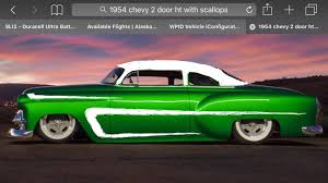 projects 54 chevy bel air 2dr ht mild custom the h a m b