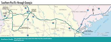 Map Georgia Usa by Georgia Stops On The Southern Pacific Route Road Trip Usa