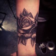 53 attractive black rose tattoo designs that look beautiful on
