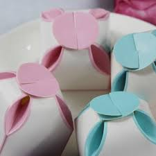 baby shower favor boxes baby pink flower petal wedding favor box ewfb047 as low as 0 48