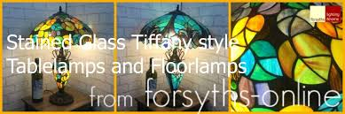 small tiffany style ls tiffany stained glass ls history from forsyths online