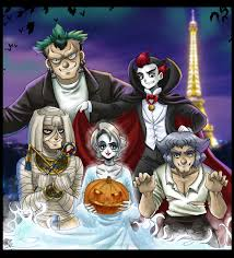 Halloween In Paris By Berylunee On Deviantart