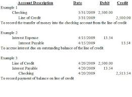 line of credit nonprofit accounting basics