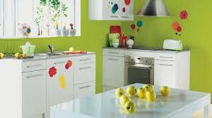 cuisine mur vert pomme organisation cuisine mur vert pomme