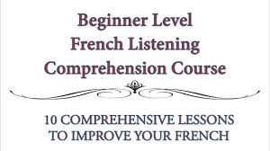 beginner french listening comprehension exercise youtube