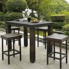 Patio Bar Furniture by Patio Outdoor Bar Furniture High Chair Table Dining Set Garden