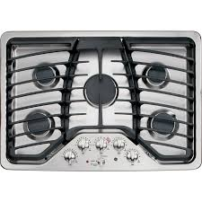 Modular Gas Cooktop Shop Ge Profile 5 Burner Gas Cooktop Stainless Steel Common 30