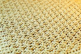 tunisian crochet kitchen mat pattern petals to picots