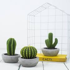 cactus candle by bonnie and bell notonthehighstreet com