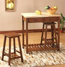 kitchen island carts with seating kitchen island cart with stools thamtubaoan