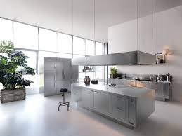 luxury hotel kitchen design ideas with glossy black trends small