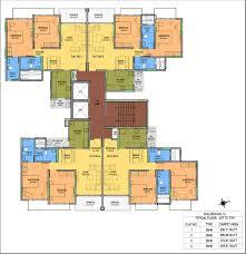Flat Plan by Floor Plans Kohinoor City At Mumbai Kohinoor Group Noida