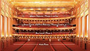 lyric opera lyric opera seating chart