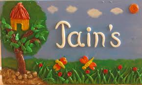 Decorative Paintings For Home Name Plate Designs For Home Decorative Name Plates For Home Design