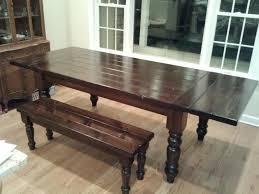 expandable dining table plans farm table plans free jukem home design