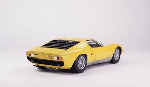 lamborghini miura lamborghini miura p400 sv 1971 scale model cars