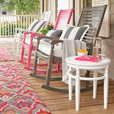 Pink Outdoor Furniture by Nantucket Rocking Chair Grandin Road