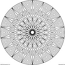 coloring pages free geometric coloring pages for adults printable