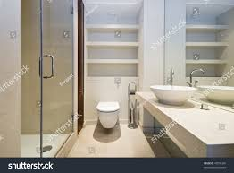 En Suite Bathrooms by Modern En Suite Bathroom Natural Sand Stock Photo 43558360