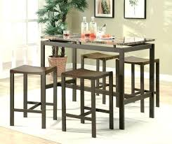 Sofa Table With Stools High Table With Bar Stools Table And Stools Made From Scaffolding