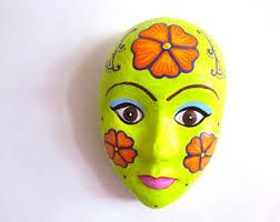 mardi gras wall masks plaster mask plaster wall décor plaster wall plaster